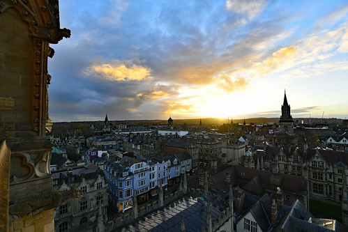 oxford universitychurchofstmary sunset city nikond850 afsnikkor1635mm14ged dreamingspires