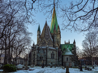 The Nidaros Cathedral East Front