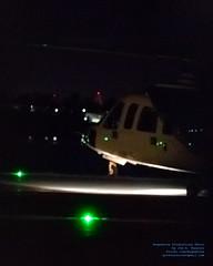 Rising HeliJet Sikorsky S-76C Thru the Fence