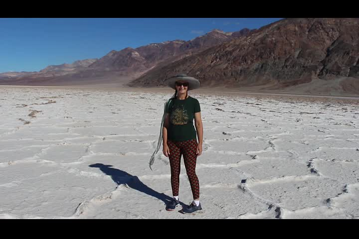 0122 Panorama video from Badwater, Death Valley