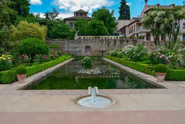Alhambra. Palacio de Yusuf III. Granada. Spain