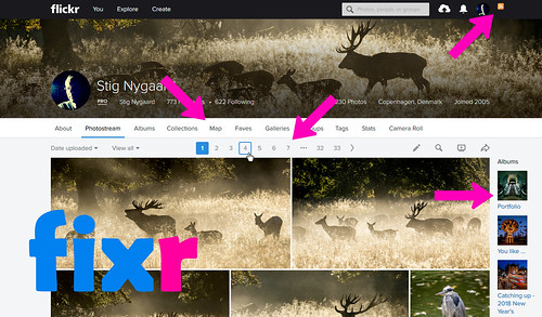 4 features of Flickr Fixr browser extension