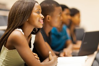 african university students in lecturing hall   by lamoussa.diabate1