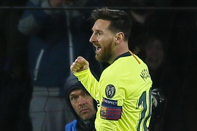Lionel Messi雖受傷但應不影響第2回合與曼聯的賽事。(達志影像資料照)