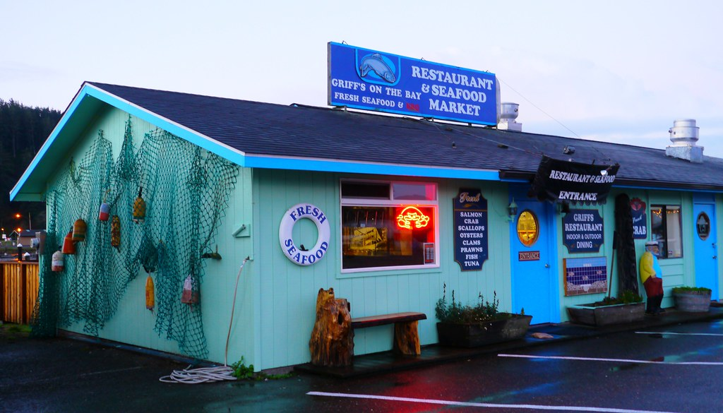 Seafood Restaurant In Winchester Bay Douglas County Oreg