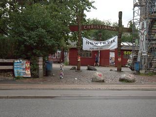 Freetown Christiania in Copenhagen, Denmark