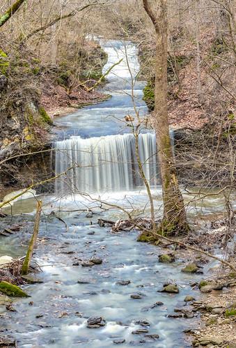 dublin franklincounty ohio suburb suburbancolumbus water stream waterfall