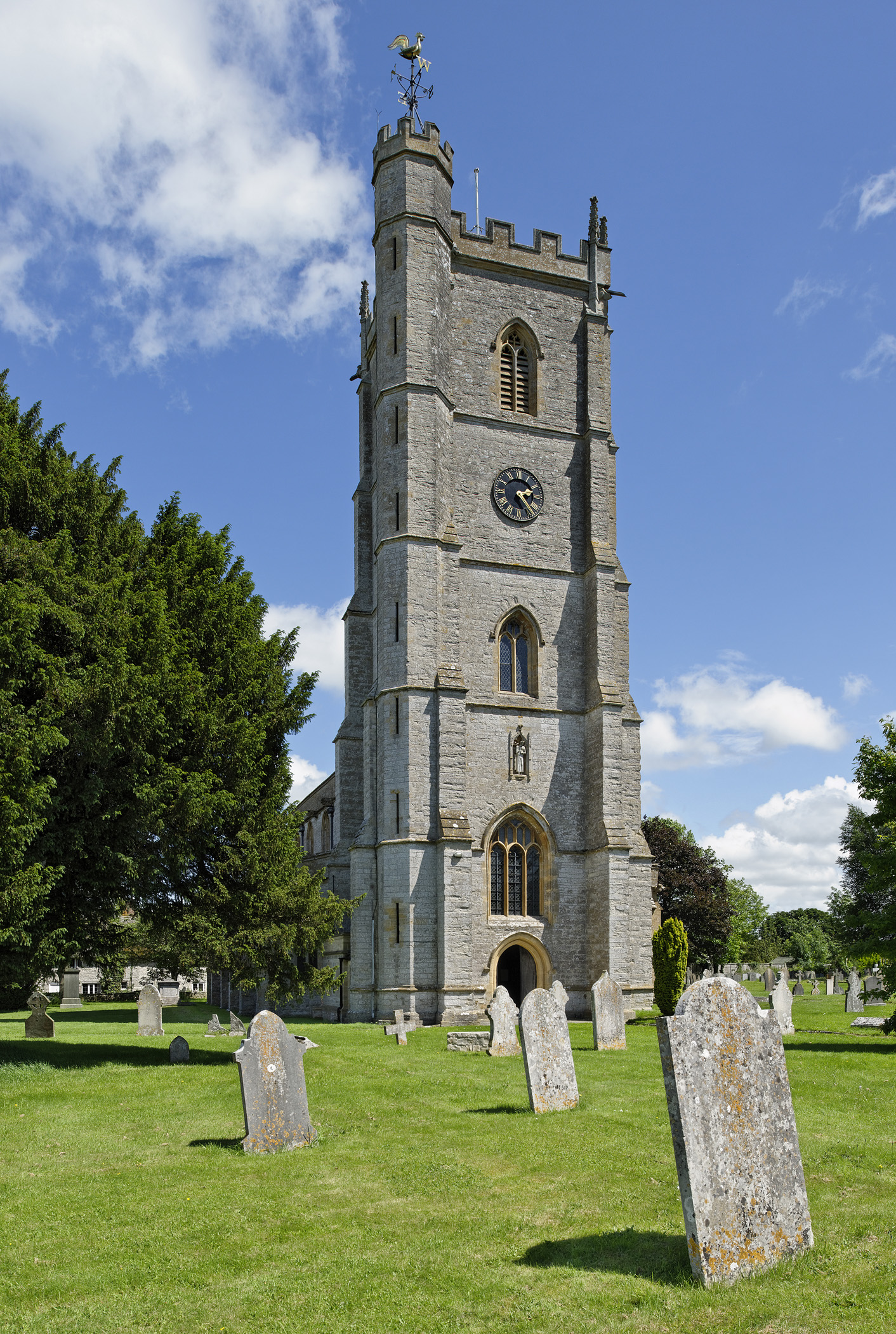 St. Barnabas Church, Queen Camel, Somerset MUST CREDIT (C) Malcom Osman