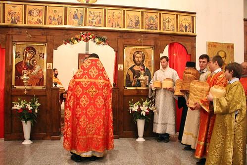 Пасхальное Богослужение в Свято-Никольском храме станицы Кавказской IMG_1467