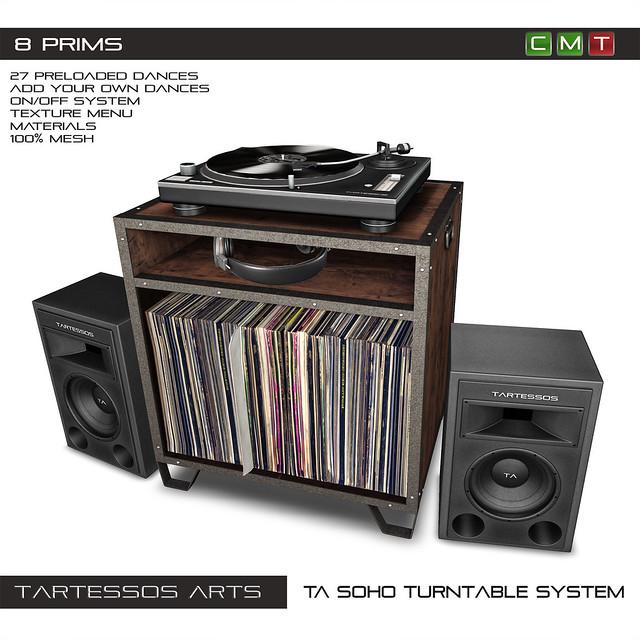 TA SoHo Turntable System
