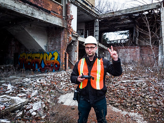Selfie at an Abandoned Factory | by kenfagerdotcom