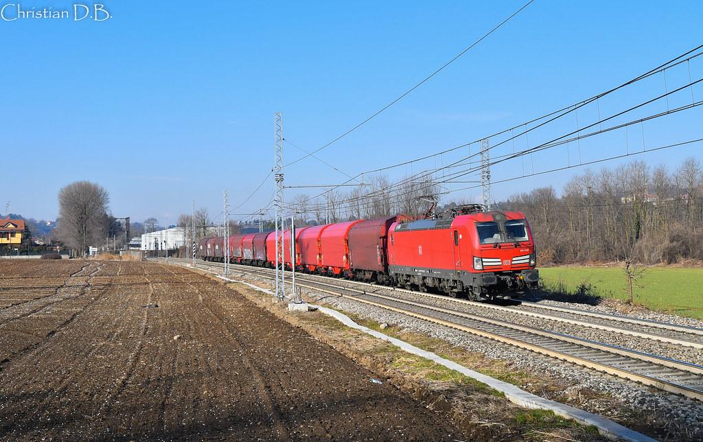E carimate db cargo italia zug treno bremen for B b italia carugo