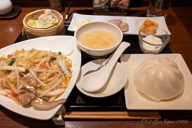 広東炒麺 ランチセット