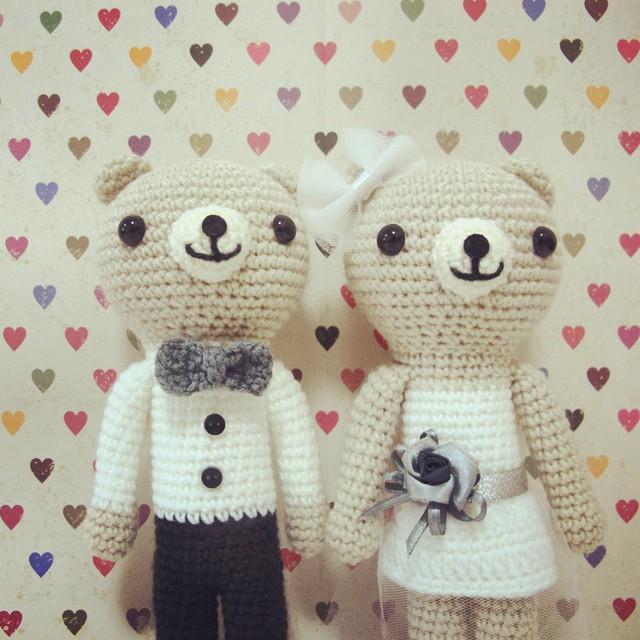 Happy bride and groom – Tremendu Crochet | 640x640