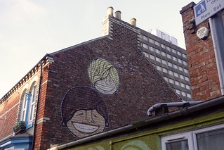 Street art, Baker Street, Middlesbrough