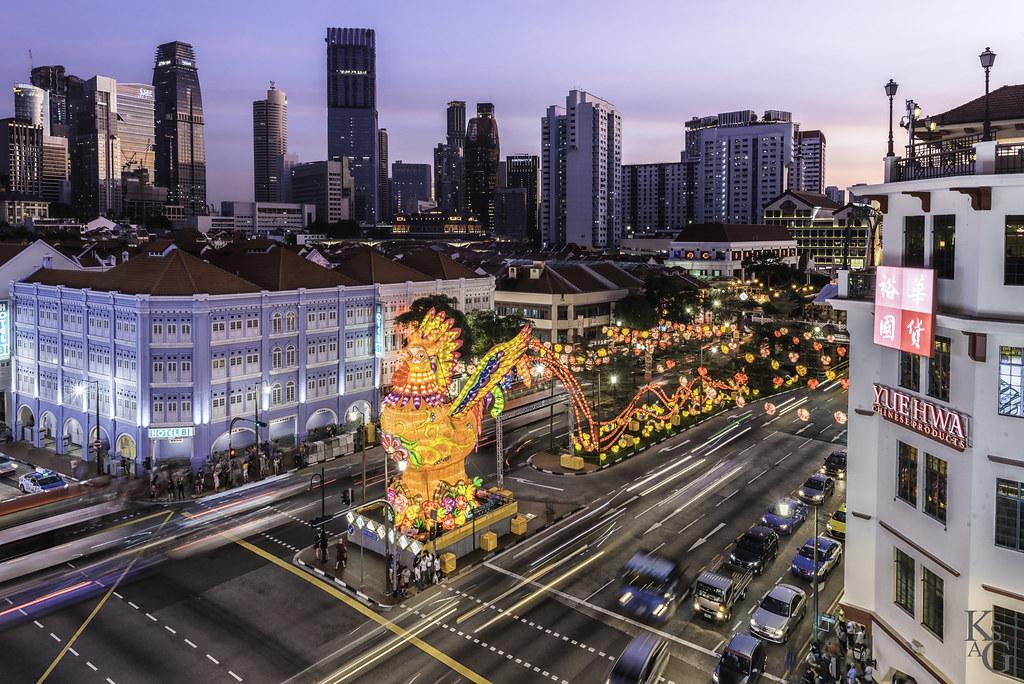 Eu Tong Sen Street, Chinatown, Singapore