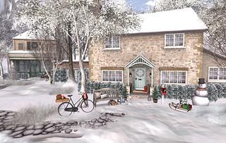 Winter Landscape Village (Grandma's)   by Hidden Gems in Second Life (Interior Designer)