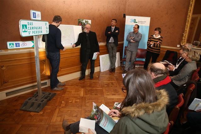 Conférence de presse sur l'EuroVelo n°3