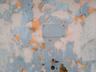Painted Cracked Wall 02   by texturepalace