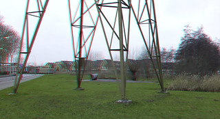 High tension electric Pylon 3D