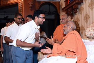 Std-10-11-12-visit-to-Haridham-for-Swamishree's-Blessings-(82) | by Atmiya Vidya Mandir