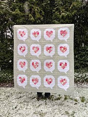 I Heart You quilt