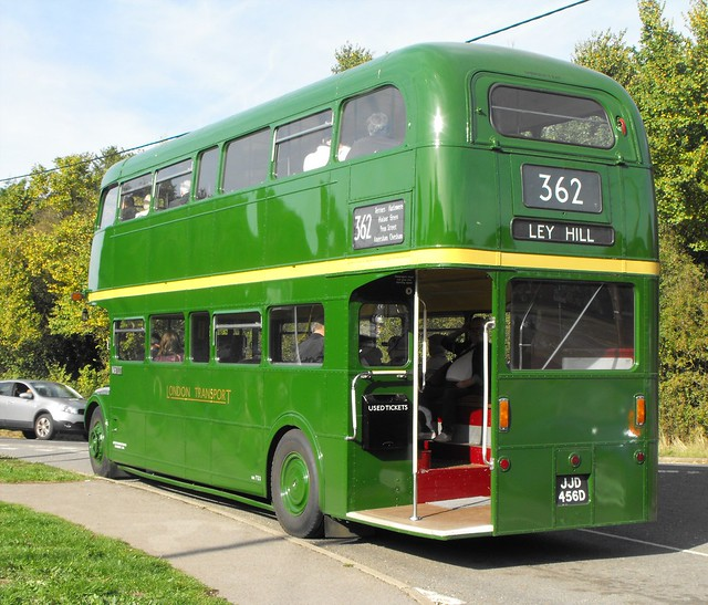RML 2456, JJD 456D, AEC Routemaster @ Ley Hill 2018 (5)