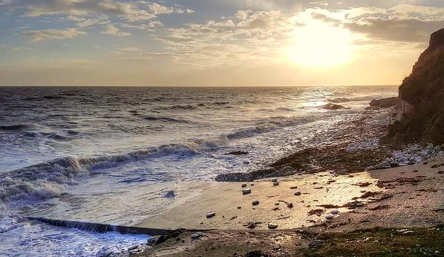 South Landing, Flamborough Head, Yorkshire, UK