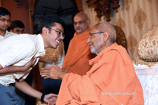 Std-10-11-12-visit-to-Haridham-for-Swamishree's-Blessings-(29) | by Atmiya Vidya Mandir