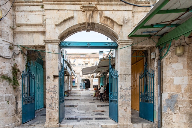 Early Morning In the Souk in Old City, Jerusalem