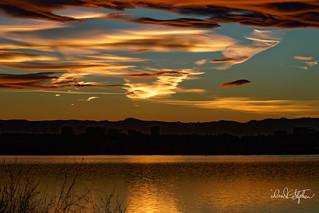 Sunset Over Cherry Creek Reservoir | by dcstep