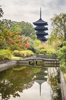 Toji Five-Storied Pagoda