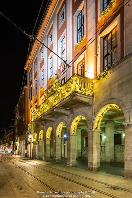 Neusser Rathaus Weihnachtszeit - 2018