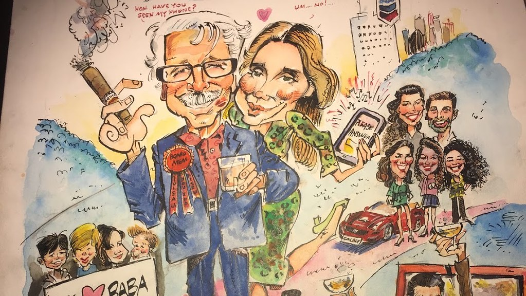 Houston TX_Local Caricature_Artist_Color_Drawing-sample1