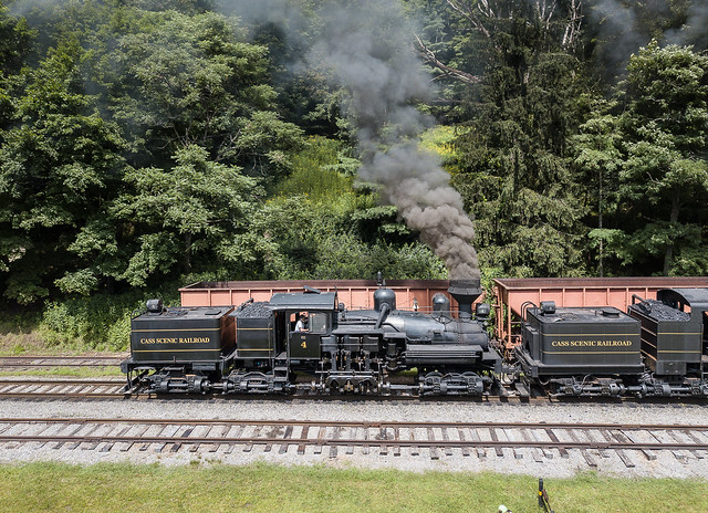 Cass Scenic Railroad   Cass, West Virginia