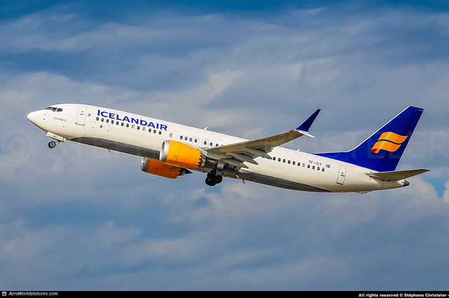 [ORY.2018] #Icelandair #FI #Boeing #B737.MAX #B737-8 #TF-ICY #Látrabjarg #awp