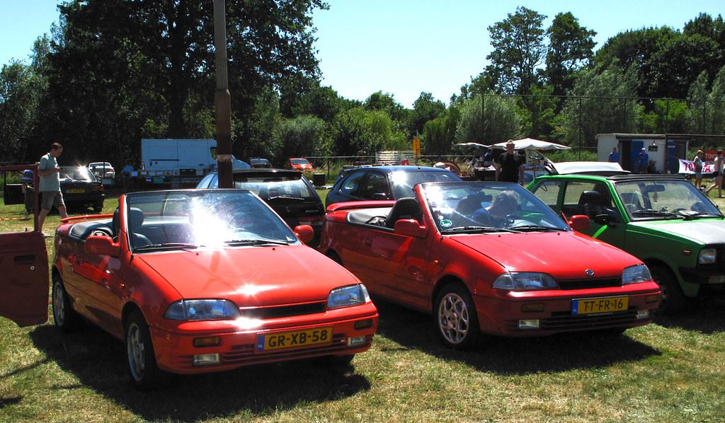 1993 & 1994 Suzuki Swift Cabrio 1 3 | Japan Classic Sunday G