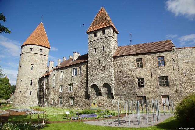 Stadtmauer der Altstadt von Tallinn (3.07.17)