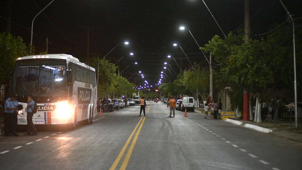 Inauguración de Obras de Pavimento y Iluminación LED en Chimbas (2)