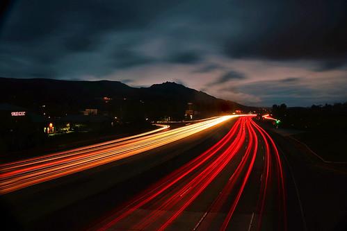 agourahills longexposure sunset 101freeway california