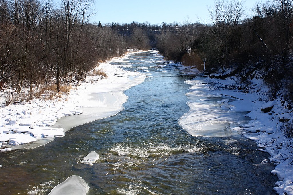 Grand River Flow >> Southward Flow Towards The Grand River Nith River Paris On