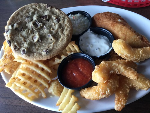 Fish fry and cookie