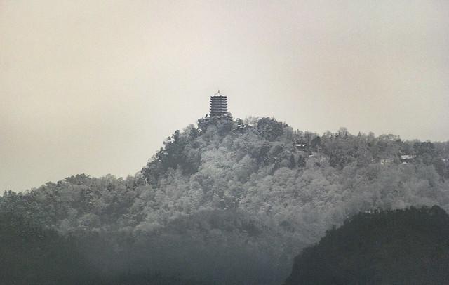 Laojun Pavilion, Mount Qingcheng, Dujiangyan, Sichuan, China