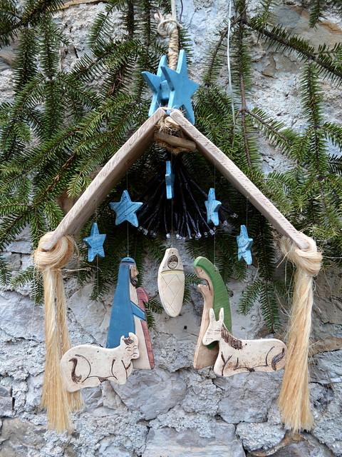 Hanging Nativity [Poffabro - 6 January 2019]