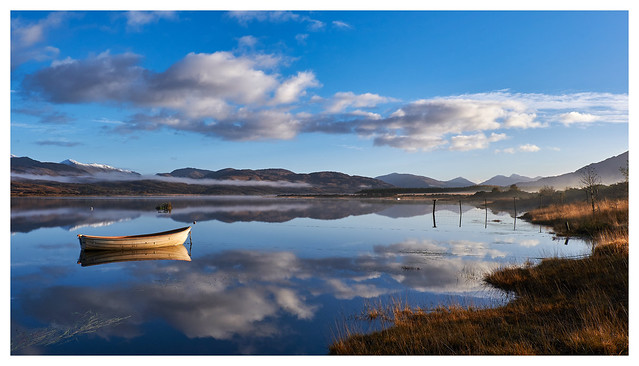 Autumn Morning on Loch Shiel, West Scotland
