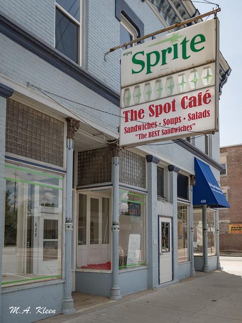 Spot Cafe Vintage Sprite Sign
