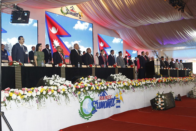 Nepal-2018-12-03-First Asia Pacific Summit Convenes in Nepal