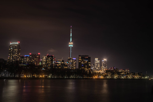 Toronto Skyline - New Year's Eve | by b.m.a.n.