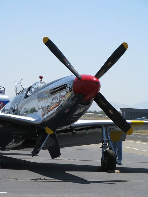 Betty Jane cools off.