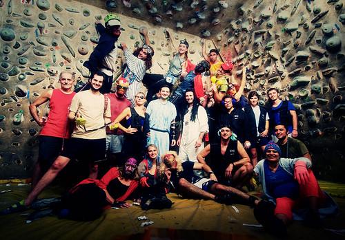 Fantasyclimbing corso di arrampicata il deposito di zio Paperone 61